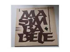 "The Unknown Cases - Masimba Bele - 12"" - Helmut Zerlett"