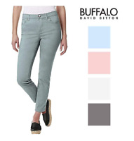 NEW Buffalo David Bitton Women's Mid-Rise Skinny Ankle Grazer Jean - VARIETY