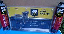 Dow Great Stuff Pro Series 14 Foam Gun With 324oz Cans Of Great Stuff Pro Foam