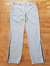 Nike Sommer Tech Pant Golfhose Gr.36/34 hellgrau