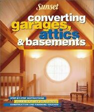 Converting Garages, Attics & Basements by Beneke, Jeff, Good Book