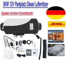 12V Luftheizung 5KW Diesel Standheizung Air Heater Heizung LKW Schalldämpfer DE