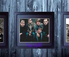 Death Cab For Cutie Band SIGNED AUTOGRAPHED FRAMED 10X8 REPRO PHOTO PRINT