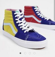 Vans Sk8 Hi Sunshine Trainers High Top Size 9 - Worn Once - RRP: £69!