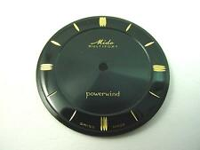 Powerwind Mido Multifort Vintage Black Watch Dial 27.98mm Gold Arrow Markers NOS
