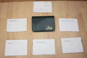 DRIVERS HANDBOOK SET / OWNERS MANUAL PACK - Jaguar XJ8 XJR X308 2000-2002 #0656