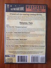 audiobook 2CD: WESTERNS, Volume 2 [Full Cast Radio Drama] - Old Time Radio Shows