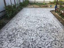 "Stone Decorative Polyurethane stamp for concrete ""Flower BIG"" floor and tracks"