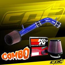 10-12 Ford Fusion 2.5L 4cyl Blue Cold Air Intake + K&N Air Filter