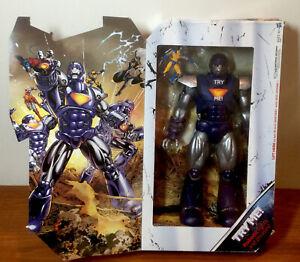 "Marvel Universe 16"" SENTINEL w/ Wolverine 3.75"" Hasbro X-Men New WORKING READ"