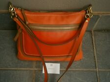 NEW  COACH CROSS BODY LEATHER BAG