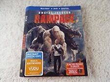 RAMPAGE Blu-ray SLIP COVER ONLY!