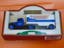 Lledo No 67000 - Diecast Model Of A 1935 Ford 3 Ton Articulated Truck - DUNLOP