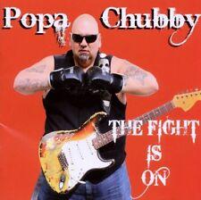 POPA CHUBBY - THE FIGHT IS ON  VINYL LP NEU