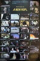 Star Wars Episode IV A New Hope Poster 22 X 34