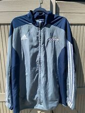 Adidas Mens XL University of Akron Windbreaker Embroidered Logos