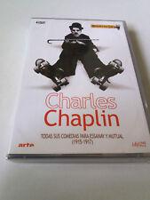 """DVD """"CHARLES CHAPLIN TODAS SUS COMEDIAS PARA ESSANAY Y MUTUAL (1915-1917)"""" 4DVD"""