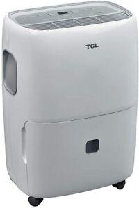 TCL 40 Pint Portable Dehumidifier w/ Auto Defrost