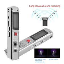 Mini Digital Diktiergerät Aufnahmegerät 8GB Audio Voice Recorder USB Pen Flash#K
