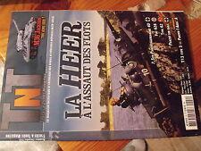 µµ Revue TNT Trucks & Tanks n°22 La HEER M36 Jackson Fiat 626  Panzer sur rails
