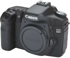 Canon EOS 50D 15.1MP Digital SLR Camera - Black Body and Charger