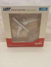 1:500 Herpa Wings 519069-003 LOT Polish Airlines Boeing 787-8 Dreamliner SP-LRC