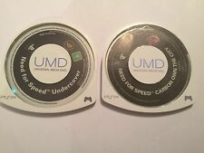 2 X Sony PSP n4s Game UMD's need for speed carbon own the city + Sous Couverture
