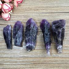 50g Natural Amethyst Skeletal Quartz Point Purple Crystal Cluster Specimen NEW