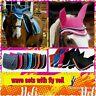 FREE FLY VEIL  Rhinegold wave elite Saddle Pad cloth numnah