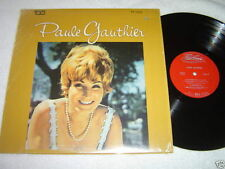 PAULE GAUTHIER Self-Titled LP Trans-Canada Records VG+/VG+ French Quebec Album