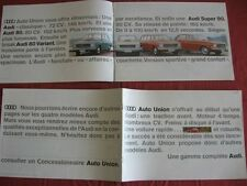 N°4198 / AUDI : catalogue berline 80 / 80 variant / super 90         mars 1967