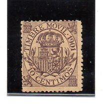 España Fiscales valor del año 1901 (AT-900)