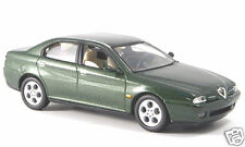 wonderful Italian modelcar ALFA ROMEO 166 in green met.