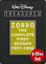 Walt Disney Treasures: Zorro - The Complete First Season, Good DVD, Guy Williams