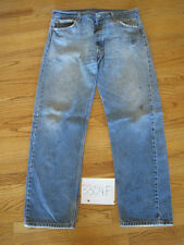 Destroyed levi 501 feathered jean tag 38x34 3304F