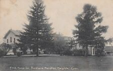 Antique POSTCARD c1905-07 Fitch Home for Soldiers NOROTON HEIGHTS, CT 13456