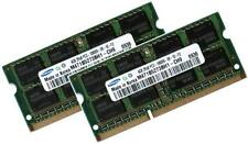 2x 4gb 8gb ddr3 1333 de RAM para Toshiba Satellite c660d-1fd Samsung pc3-10600s