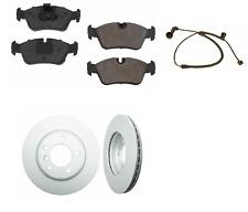 2ATE FRONT Rotor Brake Disc Sensor OPparts Pad Set kit for BMW 325ci e46 325i z4