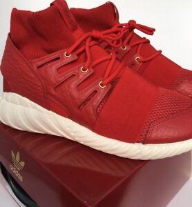 adidas Tubular Doom Chinese New Year AQ2550 UK 4.5 Brand New In Box Red Rare