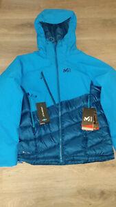 Millet Elevation dual down Jacket, Jacke, Daunenjacke, Herren, Gr. M, blau, neu