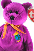TY Beanie Babies Collectable MILLENNIUM Bear with Tag & Plastic 220mm Tall