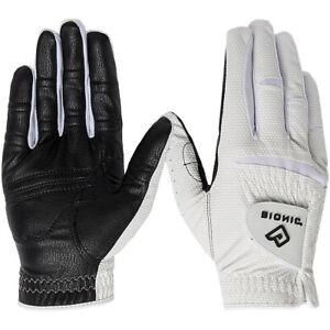 Bionic Men's Right Hand Relax Grip 2.0 Golf Glove - Black