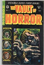 The VAULT of HORROR #1 Gladstone 1990