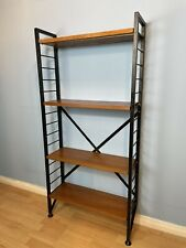 Vintage Mid Century Modern Ladderax Bookcase /Wall Unit Shelving Delivery Poss