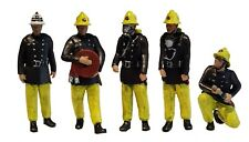 More details for fg08  firemen figures unpainted o scale