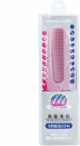 Beth Mineral Ion Comb Narrow Folding Comb Pink 1 One