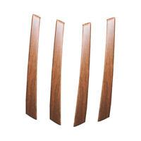 4x Wood Grain Door Armrest Handle Cover Trim Fit For Toyota Highlander 2008-2013