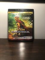 Thor Ragnarok: (4K Ultra HD Blu-ray) No Code, Or Bluray Disc Never been watched!