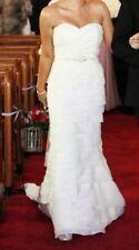 Organza Mermaid & Trumpet Sleeve Wedding Dresses