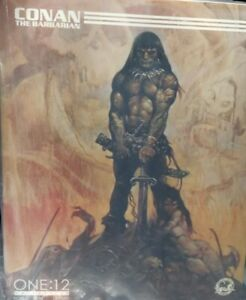 Conan Action Figure Mezco One:12 Collective Frank Frazetta Depiction. NIB